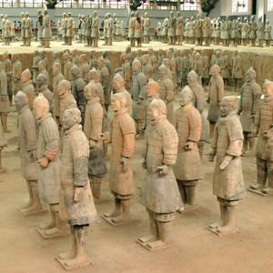Terrakotta-Armee in Xi'an © Trudywsimmons, Dreamstime.com
