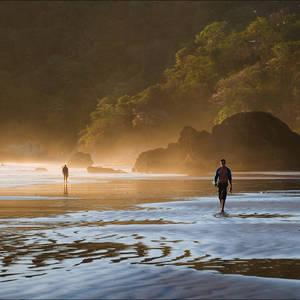 Surfparadies an der Pazifikküste © Surz01, Dreamstime.com