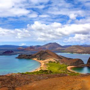 Ausblick auf die Insel Bartolomé © Thinkstock, iStockphoto