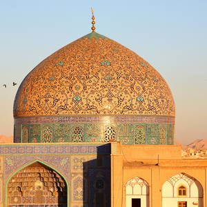 Kuppel der Sheikh Loft Allah Moschee in Isfahan © Vladimir Melnik, Dreamstime.com