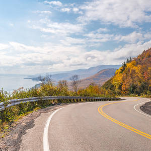 Panorama des Cabot Trail © Vadim Petrov, Dreamstime.com