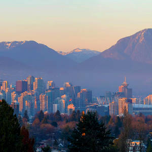 Skyline von Vancouver am Abend © Davidgn, Dreamstime.com