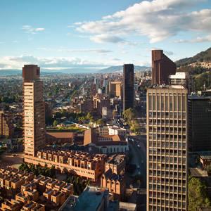 Blick über Bogotá © Tifonimages, Dreamstime.com