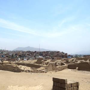 Pachacama-Ruinen bei Lima © Miriam Hintz, a&e erlebnisreisen