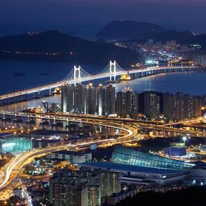 Gwangandaegyo-Brücke in Busan © FVA Südkorea
