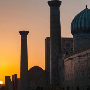Kuppeln und Minarette im Licht des Sonnenuntergangs © Mikhail Dudarev, Dreamstime.com